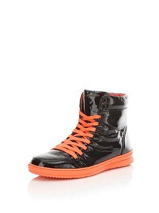 77% OFF Jump Men's Vanquish Ltd. Hi-Top (Black/orange)