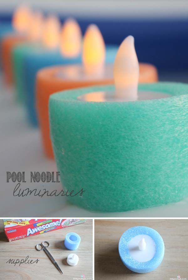 Summer is here and pool noodle is everywhere. But pool noodle has many uses not just in the swimming pool. First of all, you can do so many things with a pool noodle for home projects. For example, you can make some small exquisite pendants with the colorful pool noodles to decorate your home. Besides […]