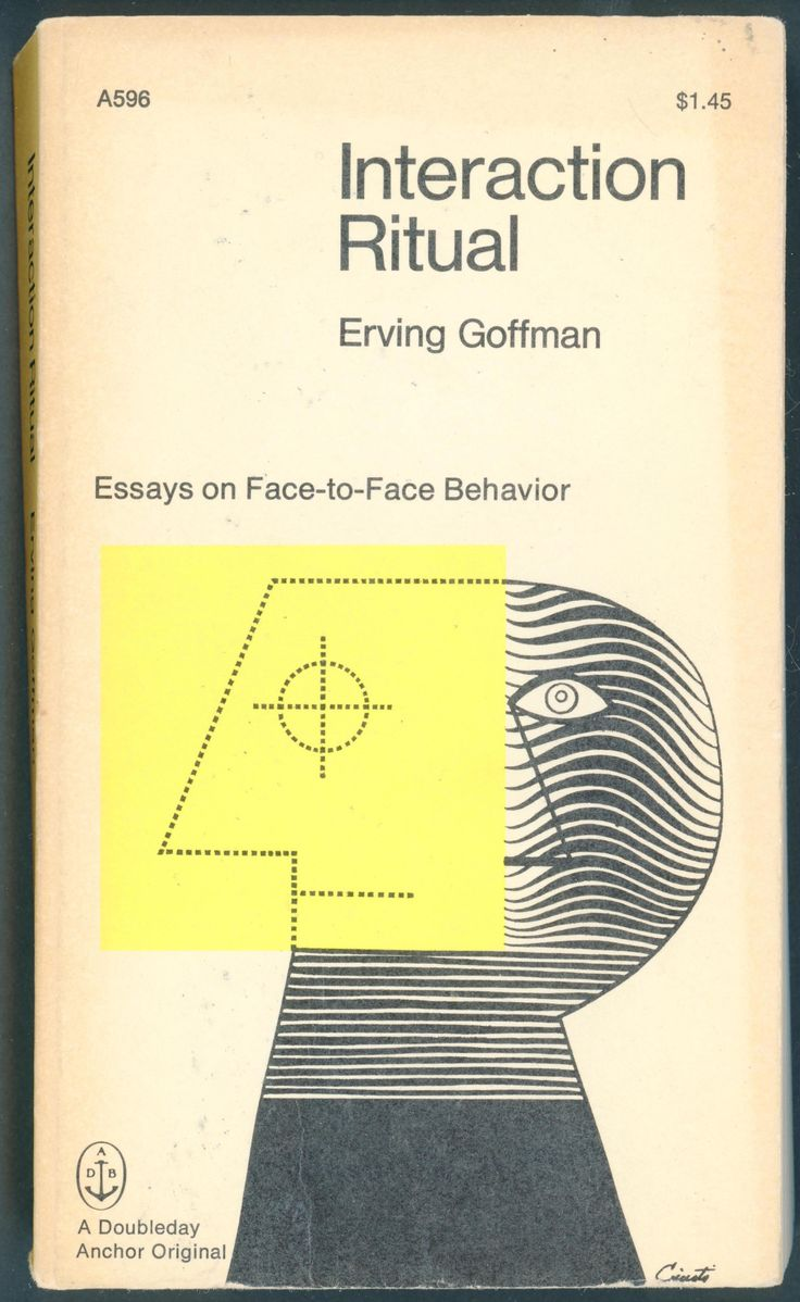 interaction ritual goffman summary
