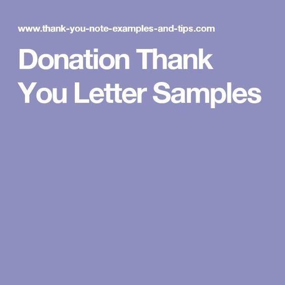 Best 25+ Donation letter samples ideas on Pinterest Fundraising - donation letters