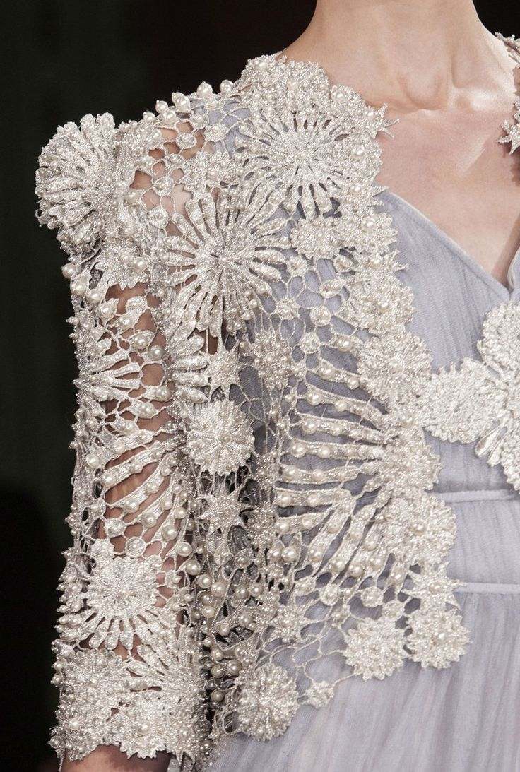 #Oscar Carvallo Couture S/S 2013 Runway #Details