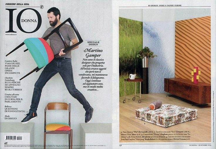 #LeDome pot, #AMoveableFeast collection, design by Elena Cutolo for #altreforme, published on IO DONNA #Italy, october 2014, #interior #home #decor #homedecor #furniture #aluminium #woweffect #madeinitaly