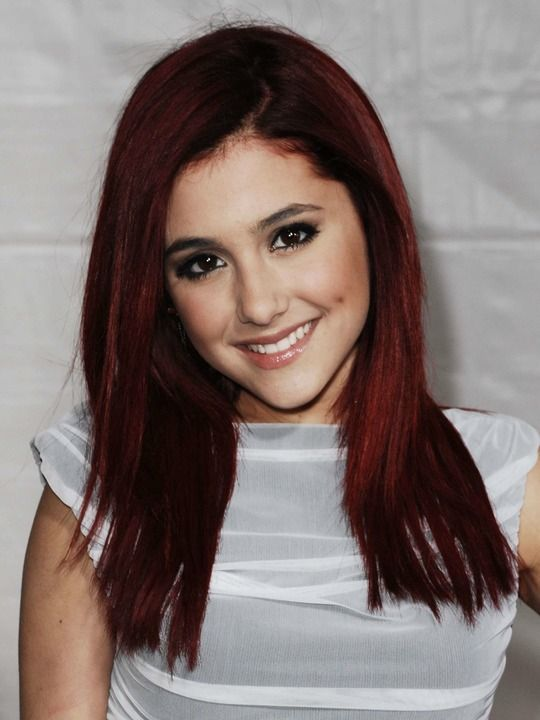Ariana Grande -Red Hair