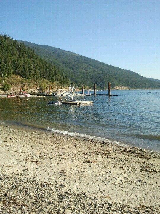 Mara Lake in Sicamous, BC