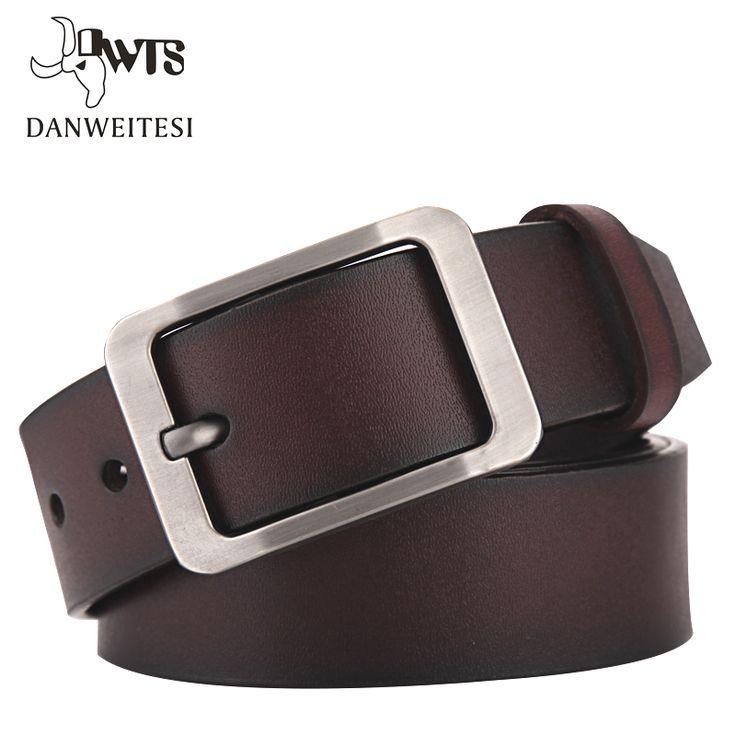 [DWTS]2017 belt men genuine leather luxury strap male belts for men buckle fancy vintage jeans cintos masculinos ceinture homme