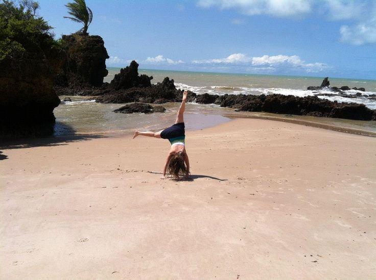 Praia de Tambaba... not my best form lol