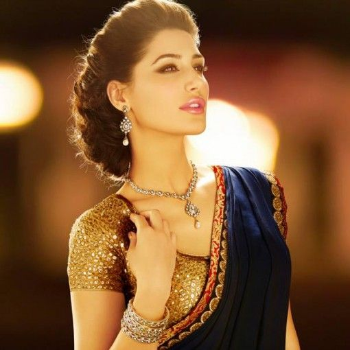 Nargis Fakhri in Indian Bridal Jewelry by D'damas Jewellery