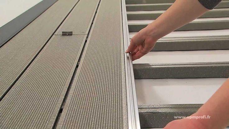 Comment installer UPM ProFi Deck terrasse composite correctement. Regardez la vidéo ou en savoir plus sur l'installation sur le www.upmprofi.fr/installation-des-composites-bois-plastique/