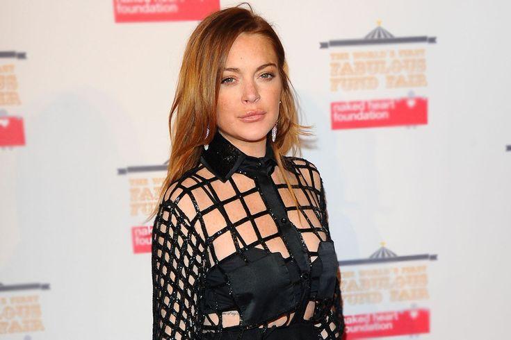 Lindsay Lohan posta vídeo de banho gelado para acelerar o metabolismo >> http://glo.bo/1EhtoC5