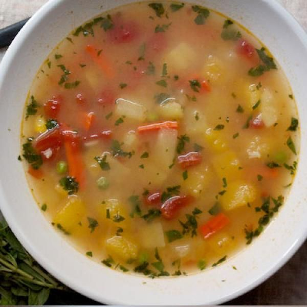 Peruvian vegetable soup the best healthy recipes for How to make healthy soup for dinner