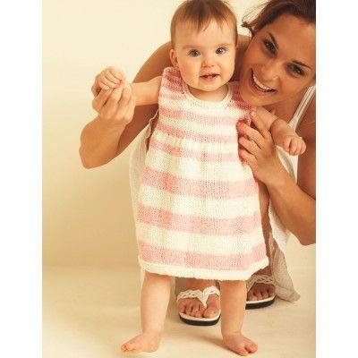 First Steps Dress - Patterns | Yarnspirations