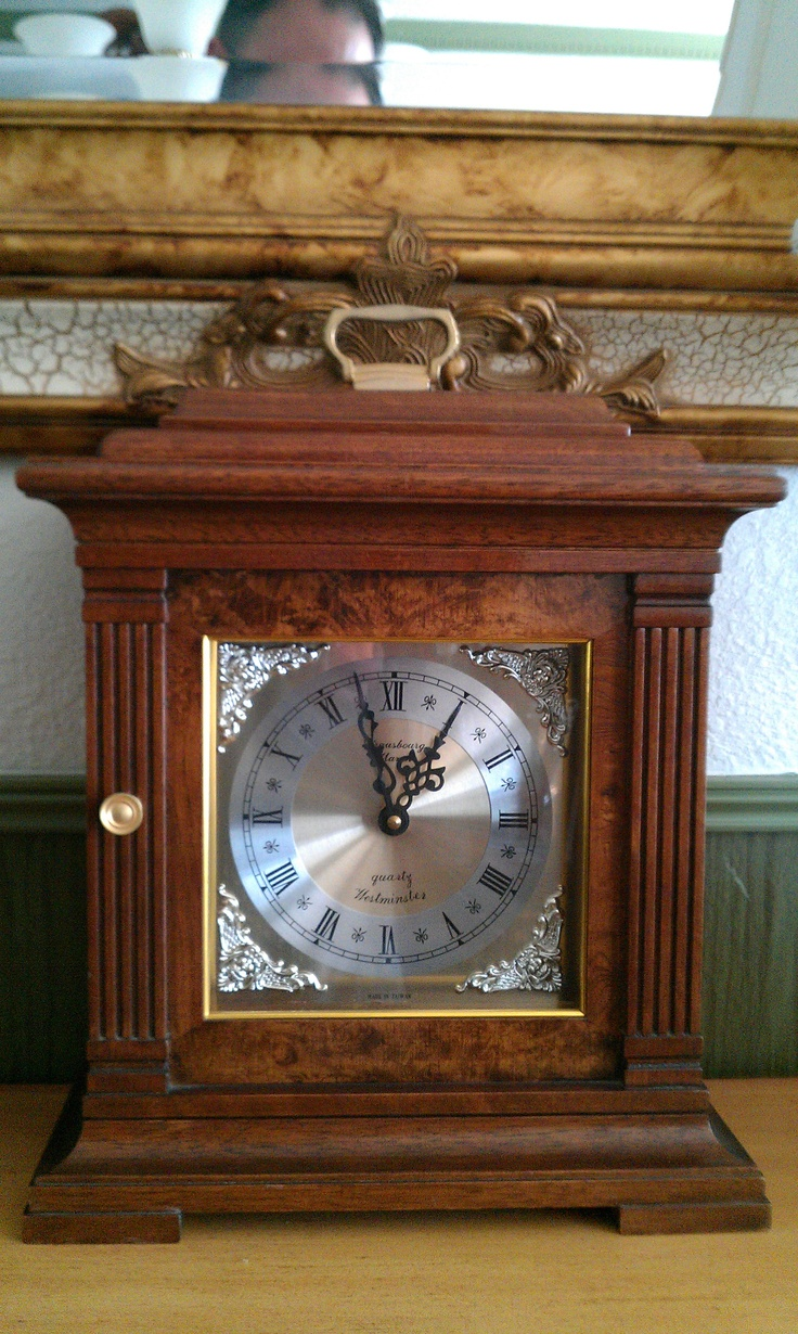 Arts and crafts mantle clock - Antique Mantle Clock Identical To Mine