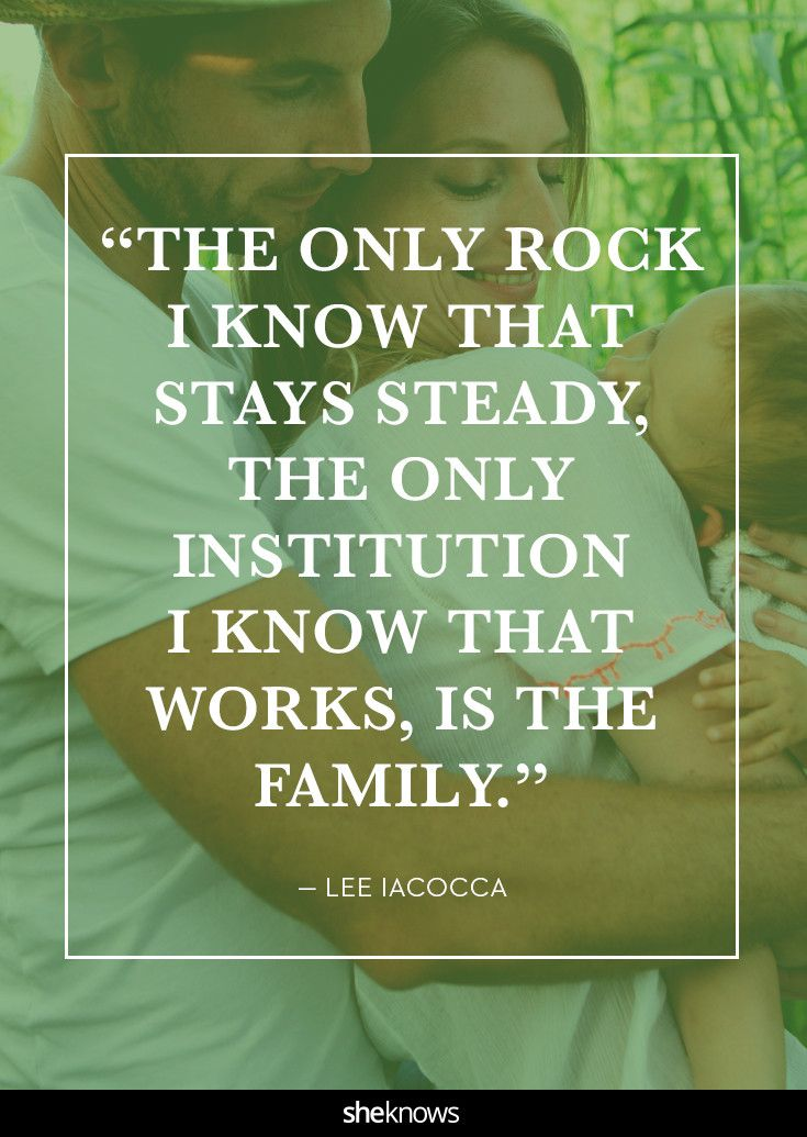 Life is full of changes, but my family (meaning my husband and our children because we only have ourselves!!!) is there through it all.