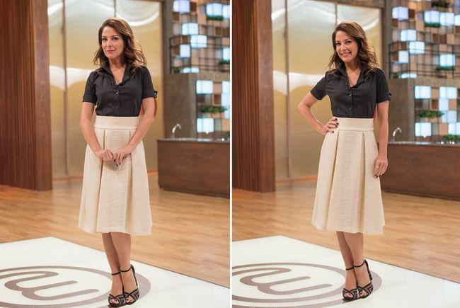 7 looks incríveis de Ana Paula Padrão no MasterChef Brasil 2016