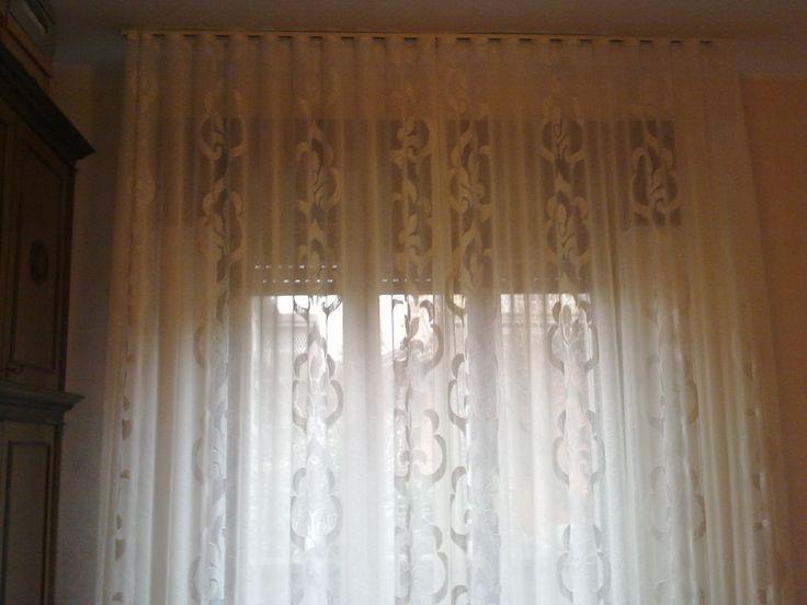 Un 39 elegante finitura per il tendaggio della camera da letto il tessuto con base in organza - Tendaggi camera da letto ...