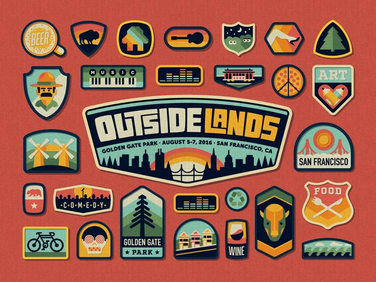 Here's a look at our work for the recently unveiled Outside Lands branding! Looking forward to sharing more details of the project in the coming weeks!  Check out our blog post here.