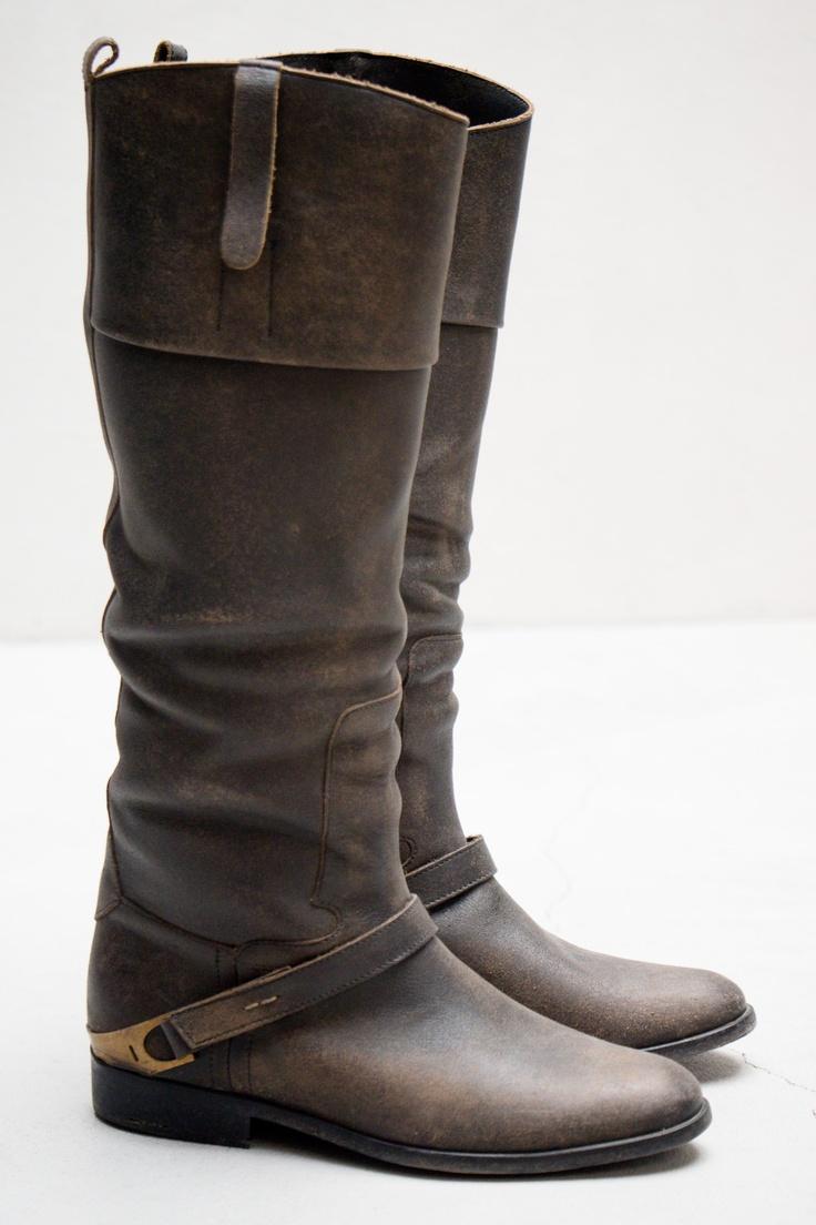 Carlye Boot — B5. Tall Leather BootsCute ...