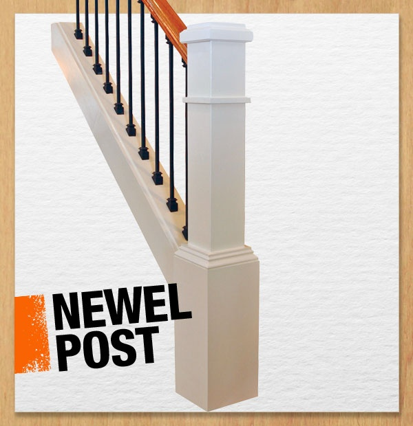 Beautiful Interior Staircase Ideas And Newel Post Designs: A Newel Post Supports A Stair Banister And Usually Anchors