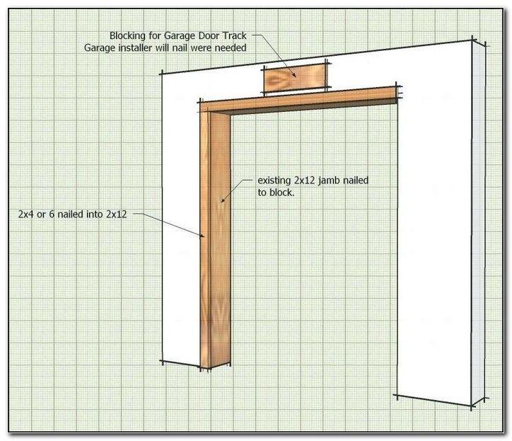 Garage Door Opening Framing Detail Check More At Http Richmondhomebuildsltd Co Uk Garage Door Opening Frami Garage Doors Garage Door Opener Garage Door Track
