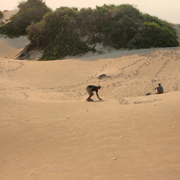 Sandboarding near Jeffrey's Bay, South Africa. Has anybody tried it?