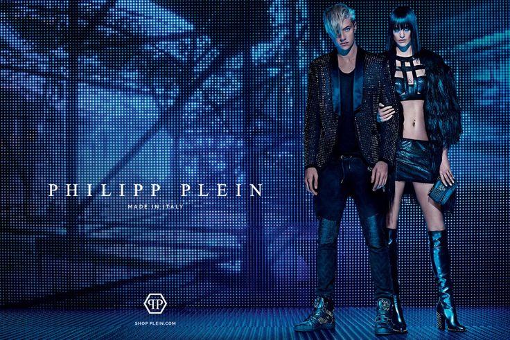 Lucky Blue Smith For Philipp Plein FallWinter 2015 Campaign by Steven Klein - DerriusPierreCom (1)