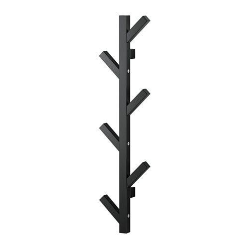 TJUSIG Hängare, svart svart 78 cm