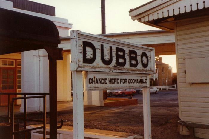 """DUBBO, NSW is considered the cross-roads of NSW. It is linked by national highways north to Brisbane, south to Melbourne, east to Sydney and Newcastle, and west to Broken Hill and Adelaide. The name comes from Dubbo station (established in 1828), which used an Aboriginal name for the property. Dubbo is now thought to be a mispronunciation of the local Wiradjuri word """"Thubbo"""" meaning 'Red Earth'."""