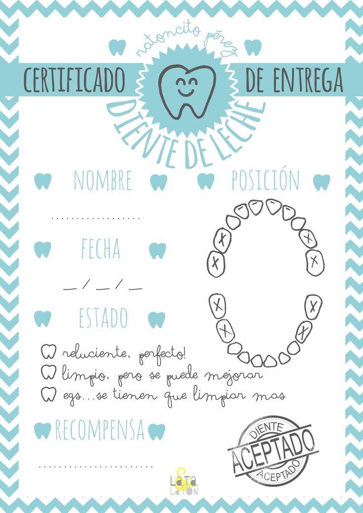 imprimible gratis ratoncito perez sobre certificado www.clinicadentalmagallanes.com