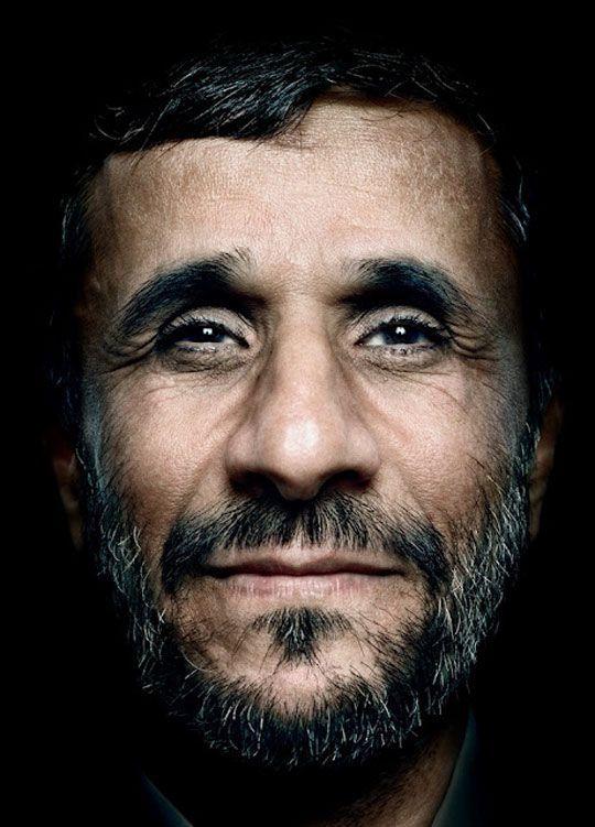 Mahmoud Ahmadinejad. Πρόεδρος του Ιράν  - Πλάτων Αντωνίου aka Platon