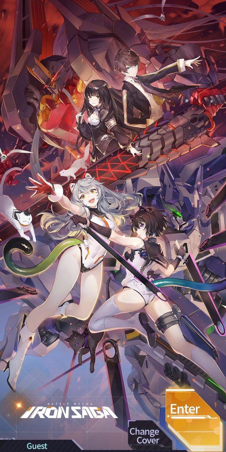 iron saga in 2020 Anime artwork, Smoke wallpaper, Anime
