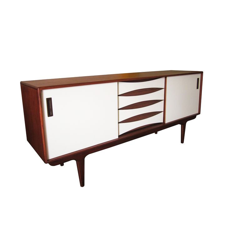 Unique Mid Century Modern Media Cabinet