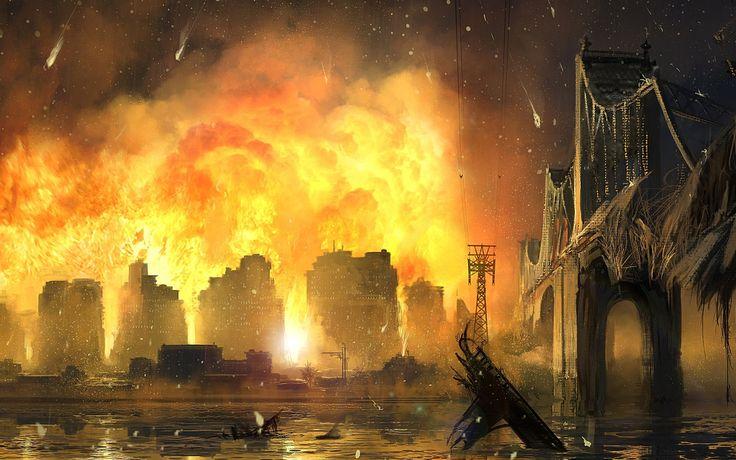 Sci Fi Apocalyptic  Wallpaper
