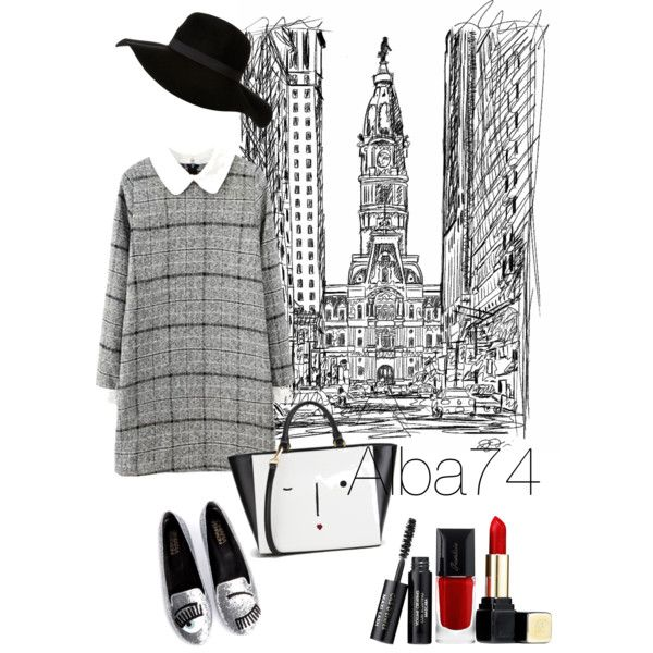 A fashion look from March 2015 featuring Chiara Ferragni flats and Lulu Guinness tote bags. Browse and shop related looks.