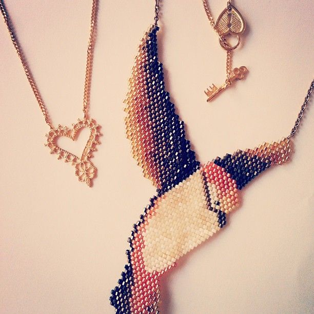 Some of our favourite necklaces by Zoe & Morgan and Clara Francis, both available in our online shop!
