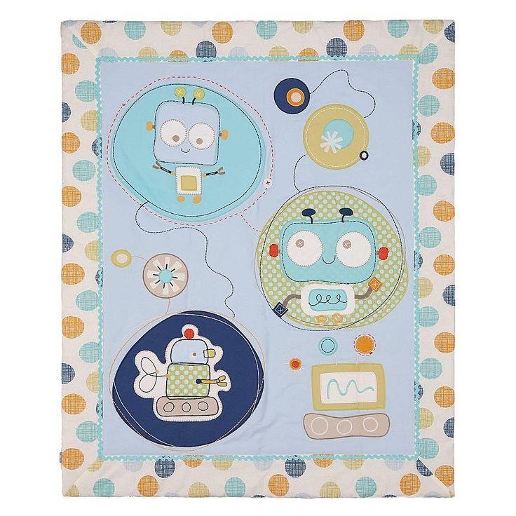 Lolli Living Baby Bot Quilt - Baby Bots   BabiesRUs