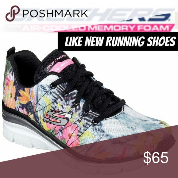 LIKE NEW LIMITED EDITION Floral Sketchers Sneakers Limited Edition Sketchers Running Shoes/Sneakers CLEAN & READY TO WEAR😊🌴 Spring/Summer/ Fall Sneakers 2017 Palm Leaf, Flower Designs Green, Mint Green, PINK, Orange, Black Sneakers Color Code : BKMT 4.5 out of 5  Excellent Condition  Bundle for PRIVATE OFFER😊🌴 Skechers Shoes Athletic Shoes