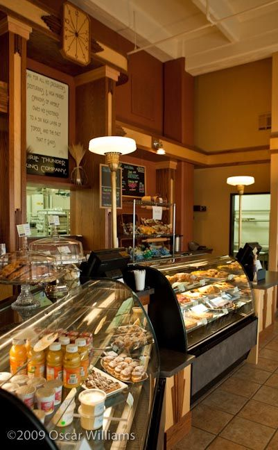 Bakery shop idea-these display cases are nice and look good slanted a bit