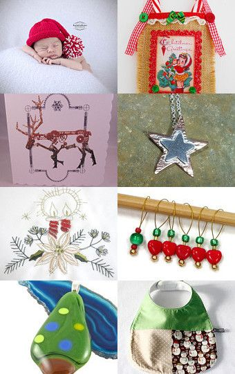 It's beginning to look a lot like Christmas by onelittlepug on Etsy--Pinned with TreasuryPin.com
