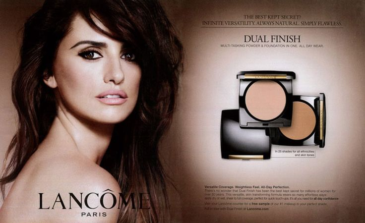 Penelope Cruz for Lancome Paris