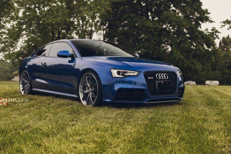 custom audi   Custom Audi RS5 in Sepang Blue Is Sheer Beauty [Photo Gallery]