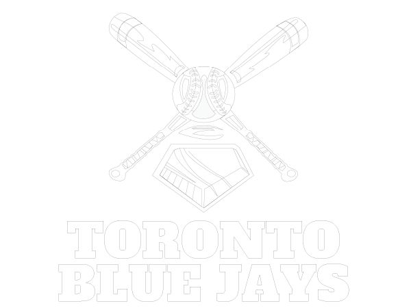 Printable Toronto Blue Jays Coloring Sheet