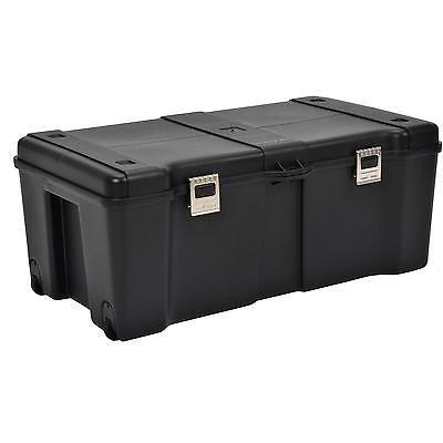 Wheeled Storage Locker Pickup Truck Bed Tool Box Auto Accessories Tools Trunk