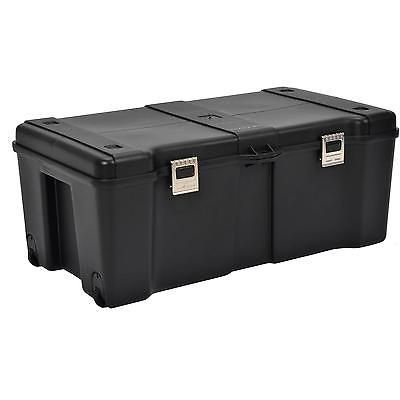 Wheeled Storage Locker Pickup Truck Bed Tool Box Auto Accessories Tools Trunk