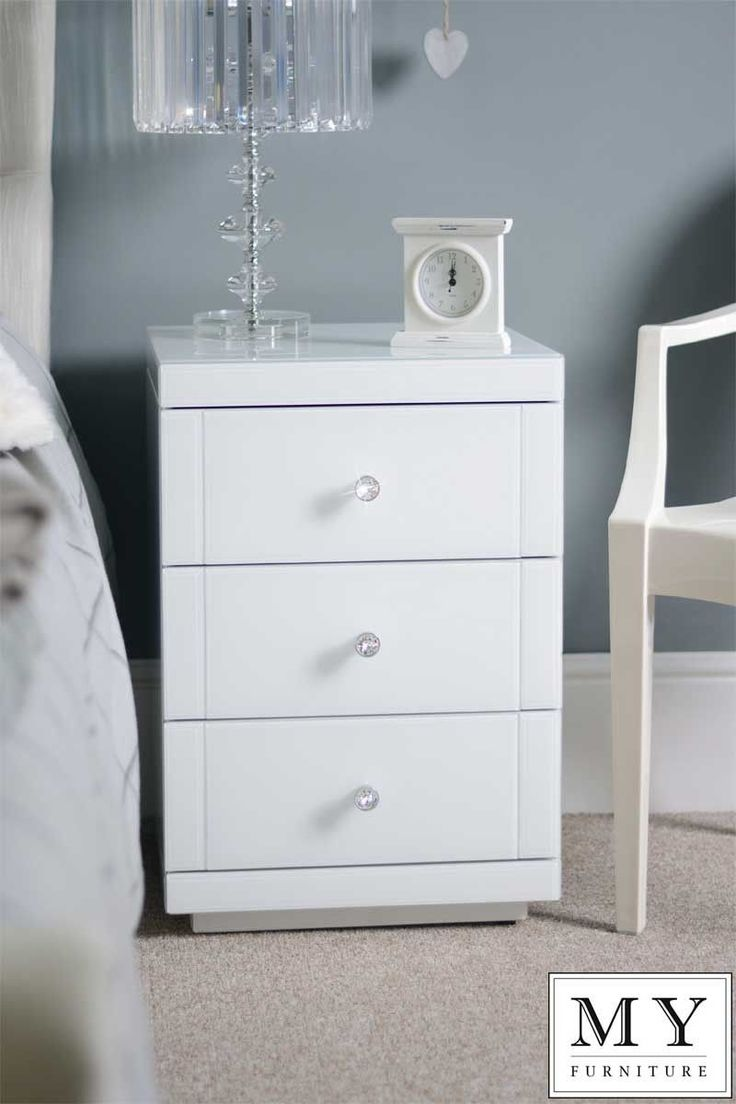 best 25 white gloss bedside table ideas on pinterest white white glass high gloss bedside table 3 drawer