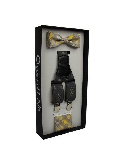 Luxusní dárkový set- šle, motýlek, kapesníček