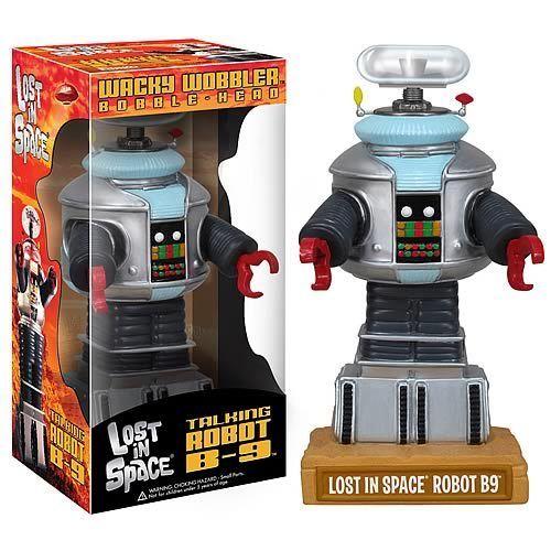 FabGearUSA - Lost in Space Talking B9 Bobble Head,  £18.93 (http://www.fabgearusa.com/lost-in-space-talking-b9-bobble-head/)