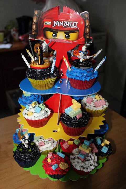 Ninja Go Cupcakes