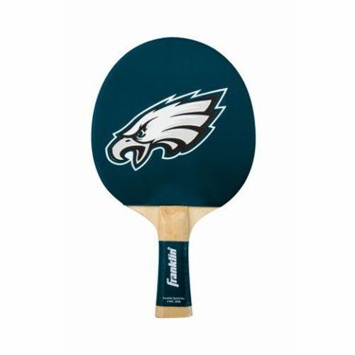 Philadelphia Eagles Table Tennis Paddle by Franklin. $19.95. Game it up with the Philadelphia Eagles Table Tennis Paddle by Franklin! This paddle is constructed with 5-ply hardwood with foam backing, rubber team color paddle surface with grip, and your favorite team logo.