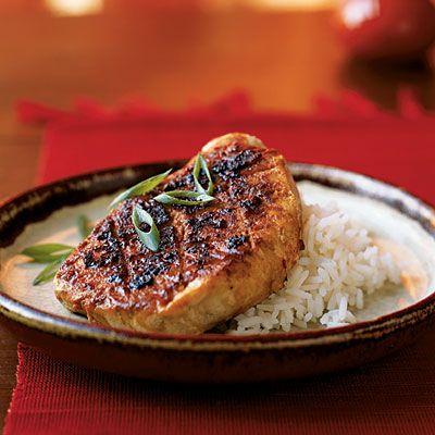 fast and heathy, vietnamese style pork chops