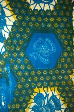 Tessuto cotone mt. 1,5 x 3 (Provenienza: Senegal)